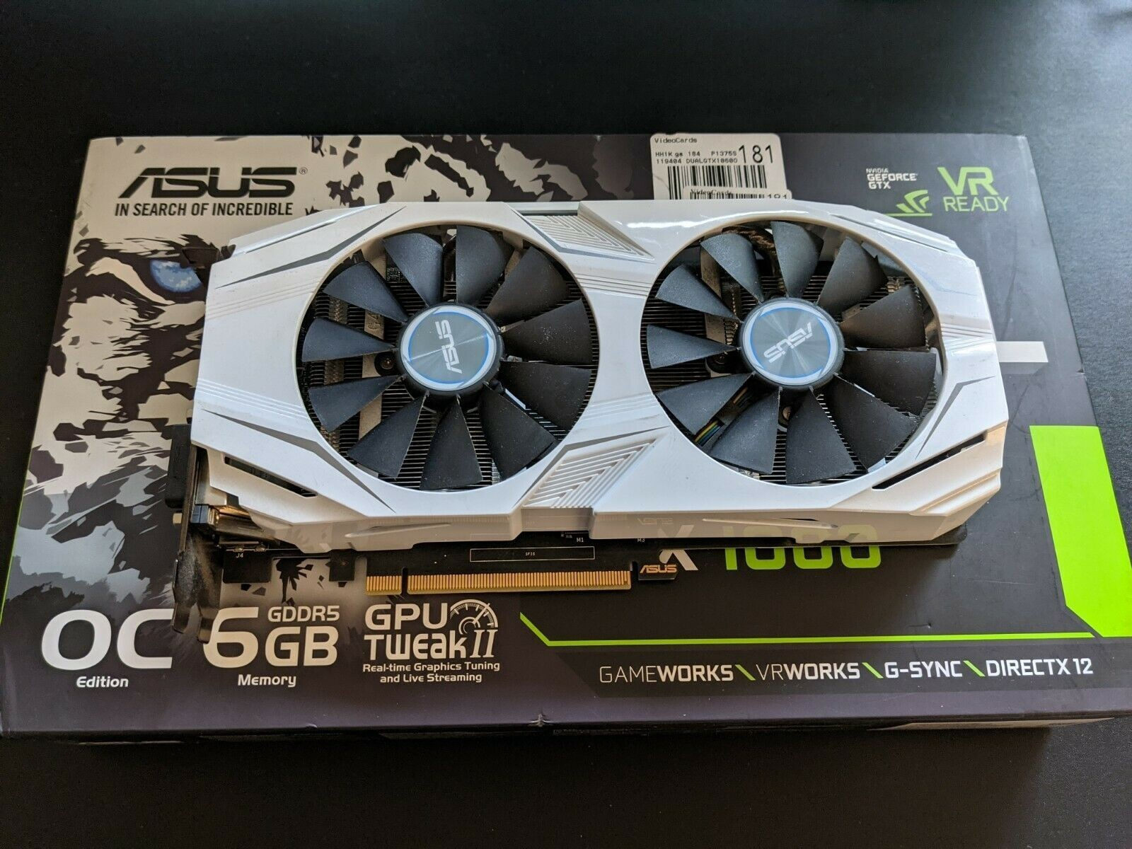 URGENT SALES ASUS NVIDIA GeForce GTX 1060 6GB GDDR5